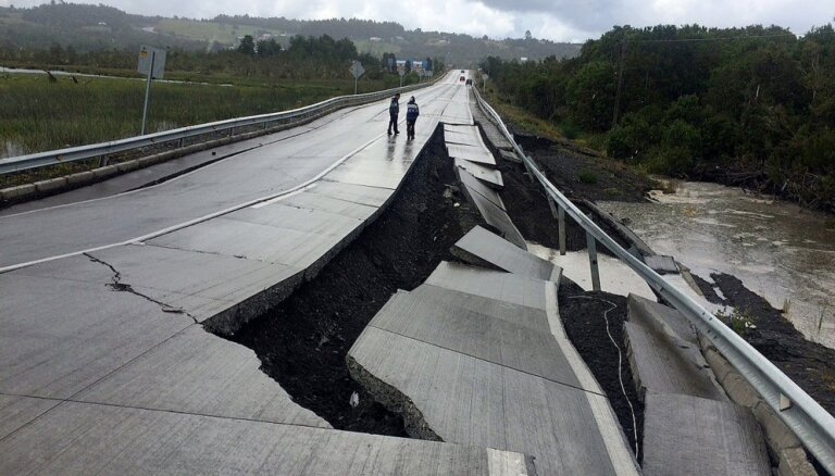 Pie Papua-Jaungvinejas krastiem notikusi 7,5 magnitūdu zemestrīce