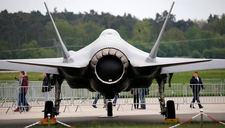 Pentagons meklē citus izgatavotājus turku ražotajām 'F-35' detaļām