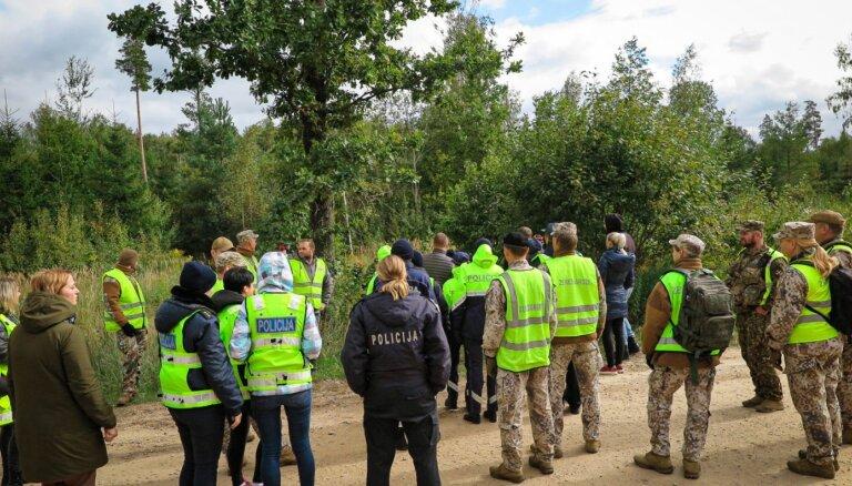 Jelgavas novadā atrod ogotāju, kurš mežā pavadījis trīs dienas