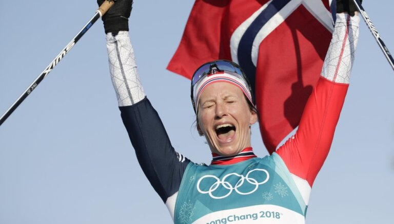Бьорген в последний день Игр стала самой титулованной спортсменкой зимних Олимпиад