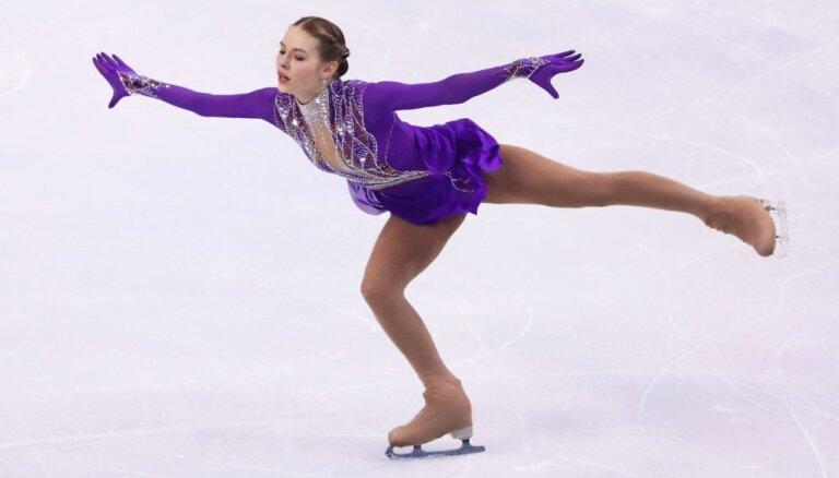 Daiļslidotājai Kučvaļskai 19.vieta sacensībās Tallinā