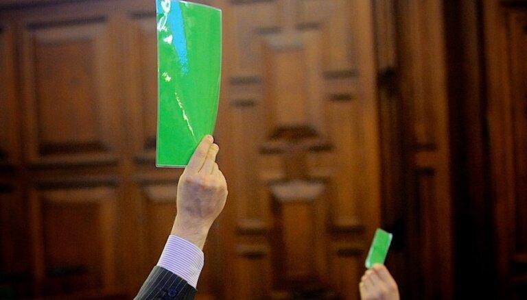 Созвано внеочередное заседание Сейма: на повестке дня 41 вопрос