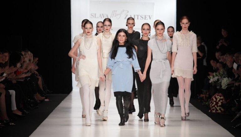Латвийский дизайнер приняла участие в показе Вячеслава Зайцева