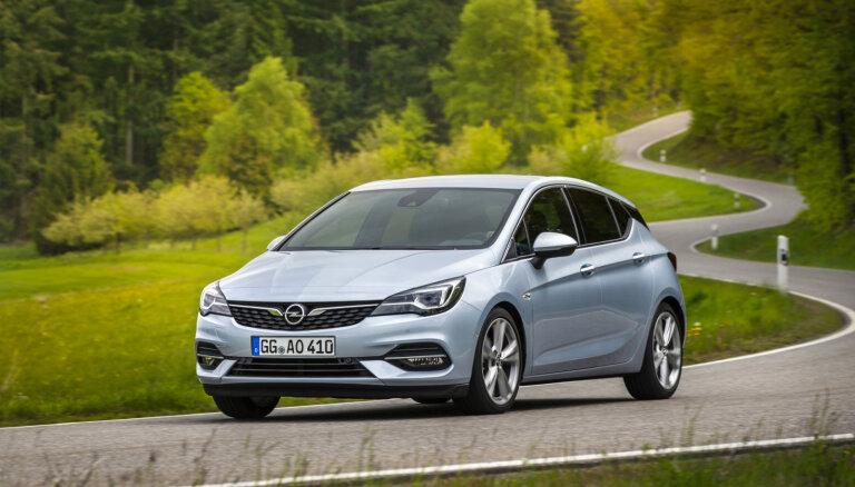 'Opel' modernizējis 'Astra' modeļa saimi
