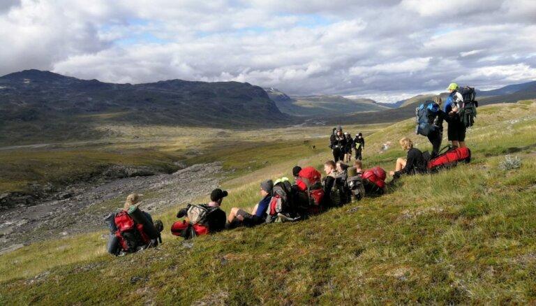 Nedēļa aiz Ziemeļu polārā loka – 'Beverīnas roveru' izaicinājums