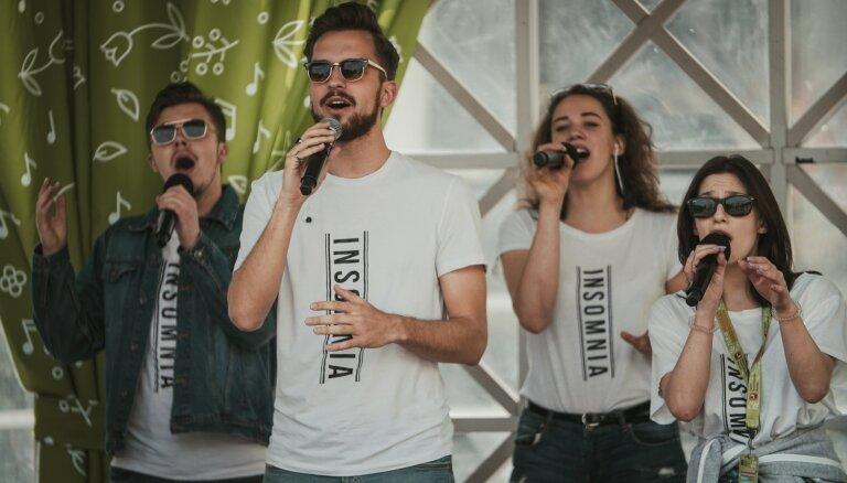 Latviešu grupa 'Insomnia' iegūst 2. vietu vokālo grupu konkursā Maskavā