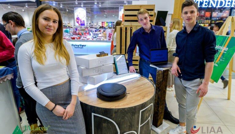 Latvijas vidusskolēni izstrādā videi draudzīgu 'airobota' versiju