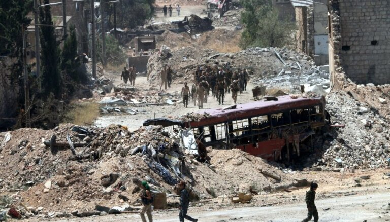 Группировка в Сирии выдвинула условия для выдачи тел экипажа сбитого Ми-8