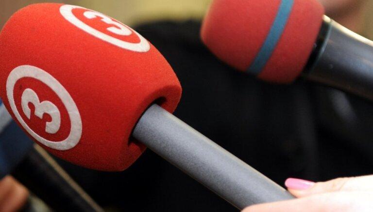 Februārī skatītāko TV kanālu trijnieks nemainīgs – TV3, LTV1 un PBK