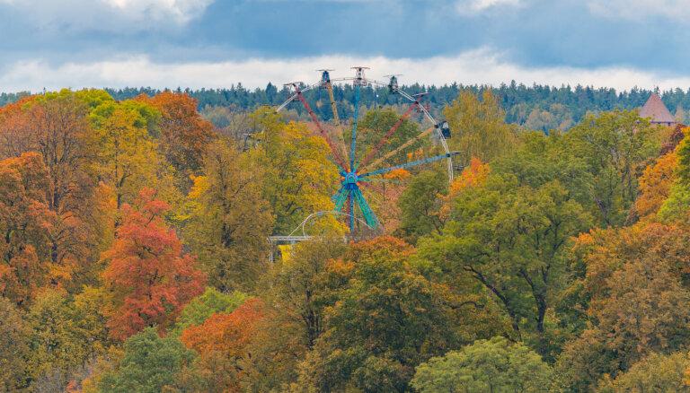 Krāšņi foto: Zelta rudens Siguldā