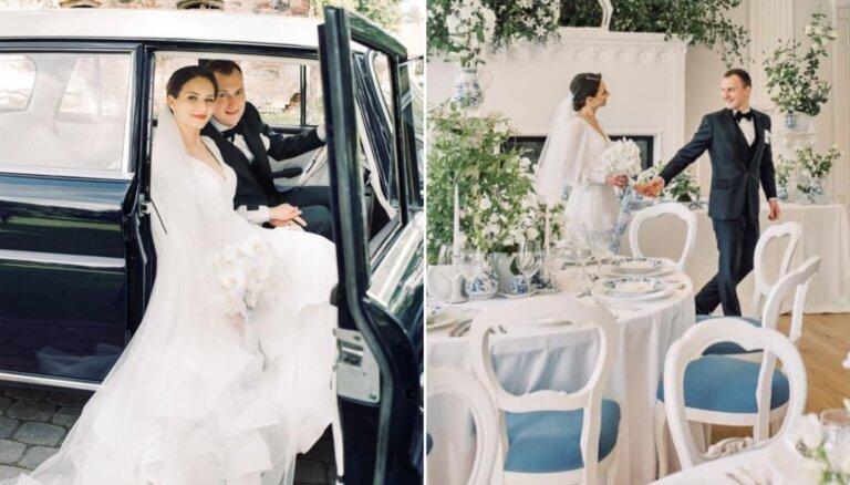 Greznās kāzās sievu apņēmis autosportists Reinis Nitišs