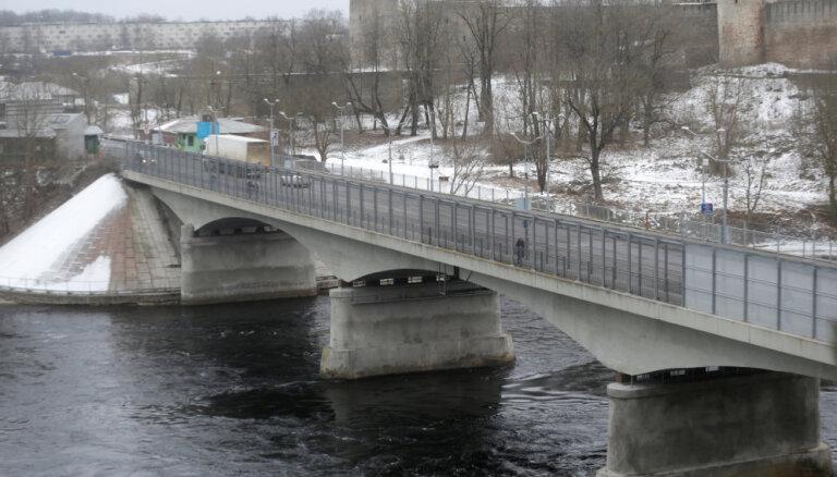 Эстония готова судиться с ЕК за право взимать плату при пересечении границы с Россией