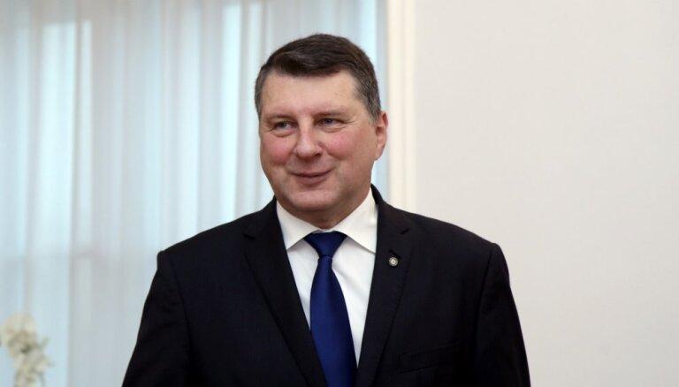 """Эстония наградит Вейониса """"Цепью Креста Маарьямаа"""""""