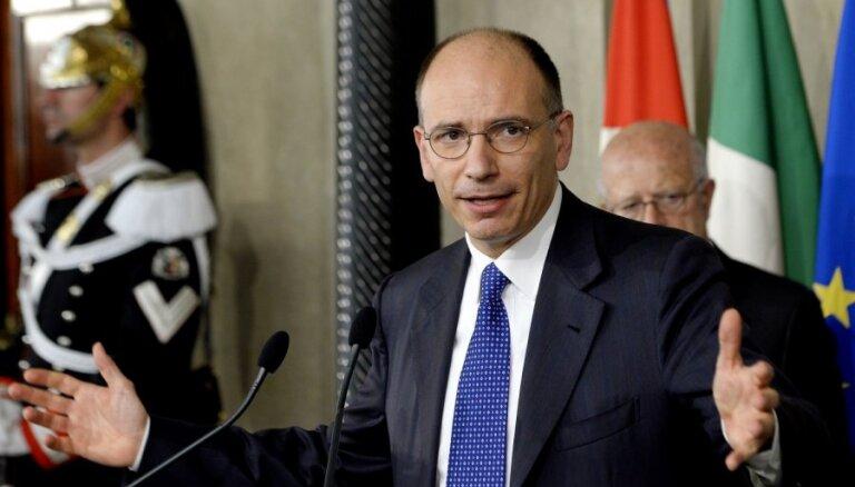 Itālijas parlaments trešdien balsos par uzticību valdībai
