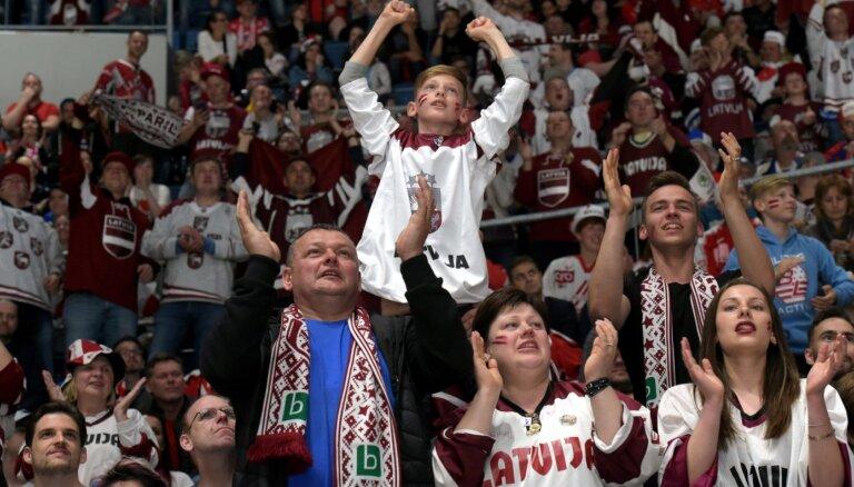 Valdība nelems par iespēju skatītājiem apmeklēt hokeja čempionātu