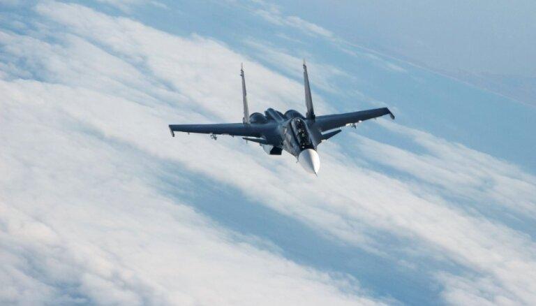 Vidusjūrā nogāzies Krievijas iznīcinātājs, abi piloti gājuši bojā