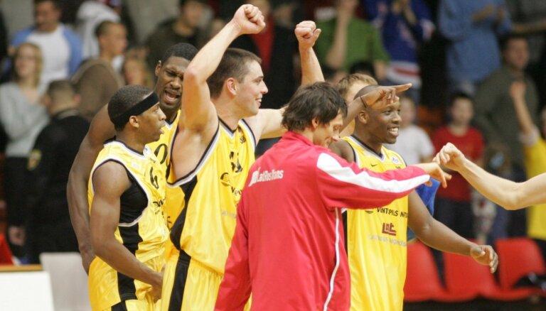 Izcilās komandas: 'Ventspils' basketbolisti piesaka pretenzijas uz ULEB kausu
