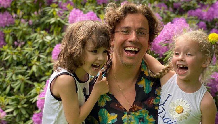 ВИДЕО: По-домашнему. Максим Галкин отметил день рождения в кругу семьи