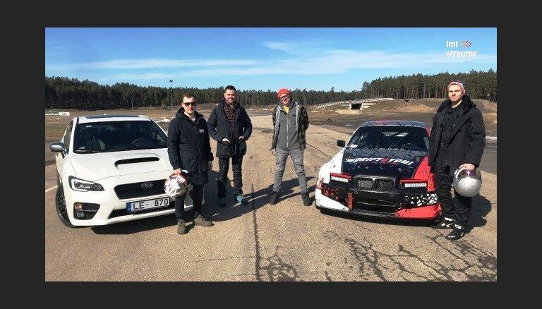 Video: Kurš ātrāks trasē – Nitišs autošosejas manierē vai Burkovs driftējot