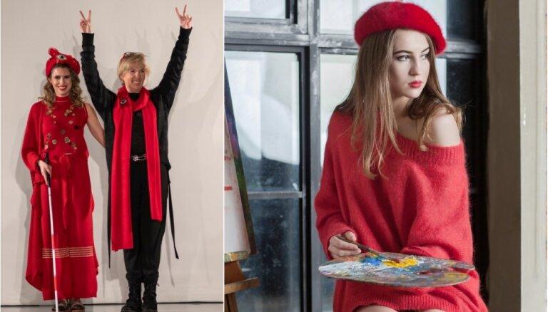 Ģimenes biznesa un labdarības sinerģija – latviešu adījumi iekaro Milānas modes nedēļu