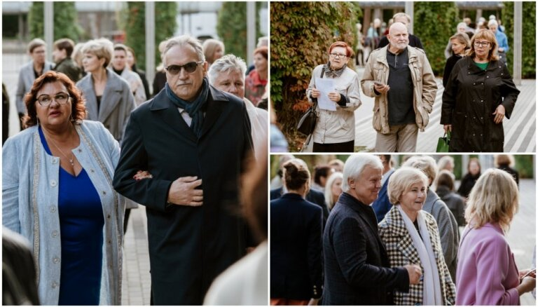 Foto: Smalka publika ierodas uz 'Kremerata Baltica' festivālu Dzintaros