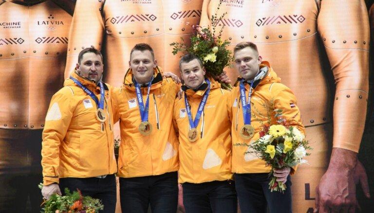 Piecu olimpisko čempionu bobslejā vēstule valsts amatpersonām par Daugavas stadiona starta estakādi
