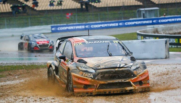 Jānis Baumanis 'World RX' Spānijas posmā augstajā sestajā vietā pēc pirmās dienas kvalifikācijas
