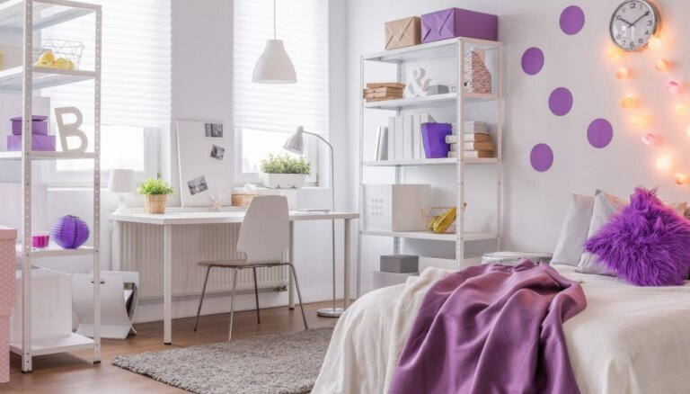 Gaumīgi violets – idejas, kā savaldīt izteiksmīgo krāsu interjerā