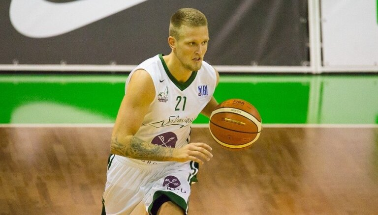 'Valmiera'/ORDO BBL mačā uzvar Tallinas TLU/'Kalev' vienību, turpinot spēlēt bez zaudējumiem
