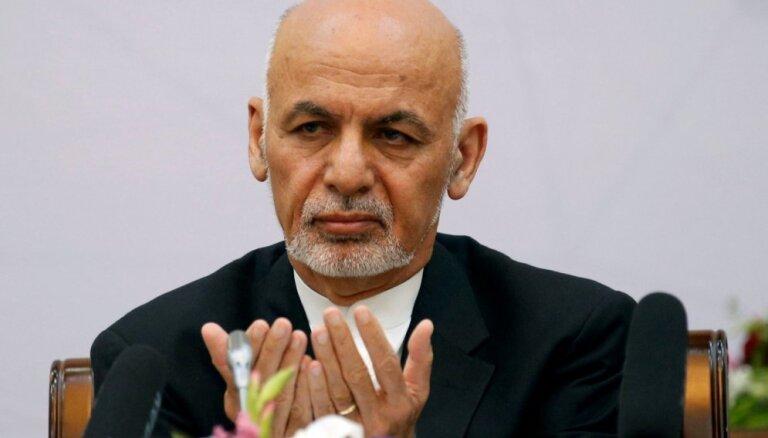 Afganistānas prezidents pašreizējo drošības situāciju valstī saista ar 'pēkšņo' ASV spēku atvilkšanu