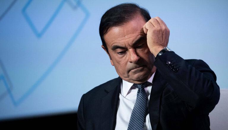 'Renault' padome bloķē atalgojuma izmaksu Gosnam 10 miljonu eiro apmērā