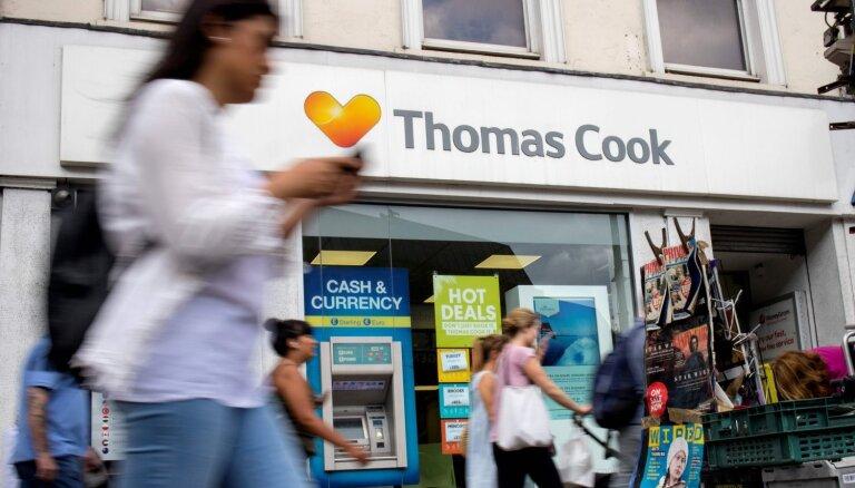 'Thomas Cook' konkurents iegādāsies 555 uzņēmuma birojus Lielbritānijā