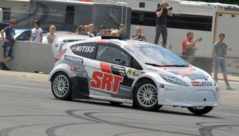 Nitišam piektā vieta 'Rally X' sacensībās Zviedrijā