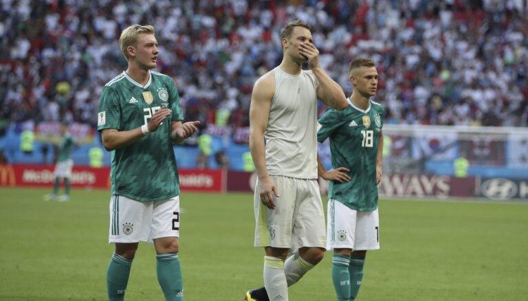 ВИДЕО: Как сборная Германии потерпела фиаско на ЧМ-2018 в России