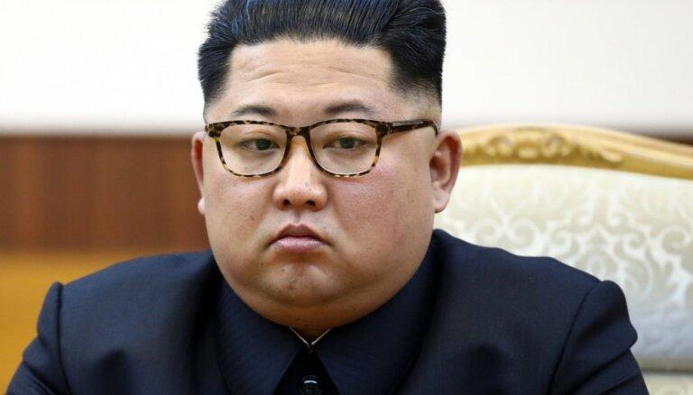 Ziemeļkoreja paziņo, ka izmēģinājusi raķešu palaišanas iekārtas un vadāmos taktiskos ieročus