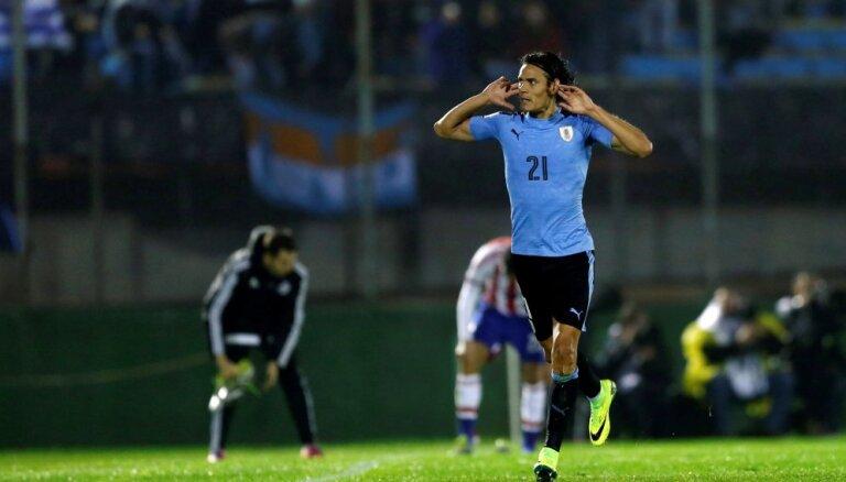 Отбор ЧМ-2018: Аргентина еле отыгралась без Месси, Уругвай перехватывает лидерство