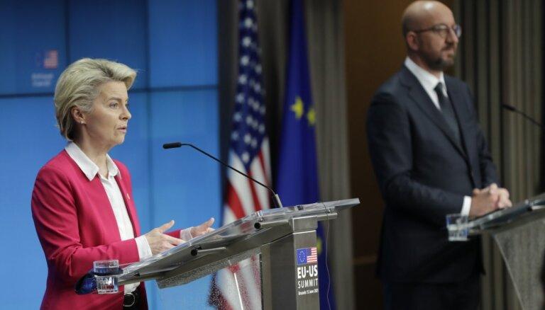 ES un ASV vienojas par pamieru aviobūves nozares subsīdiju lietā