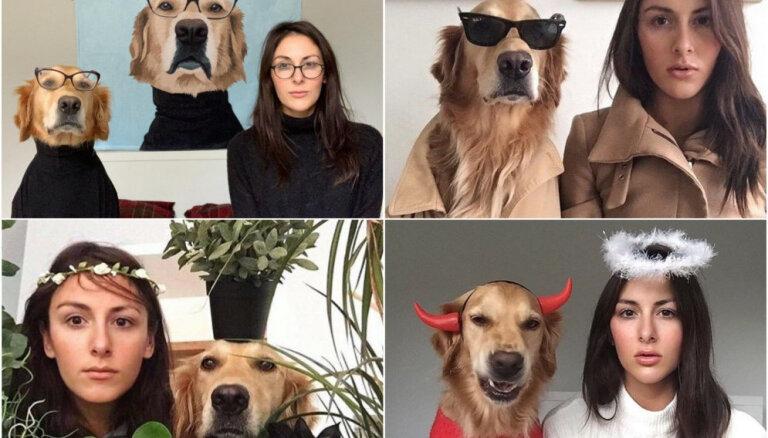 Amizants foto projekts: tāda ir suņa dzīve