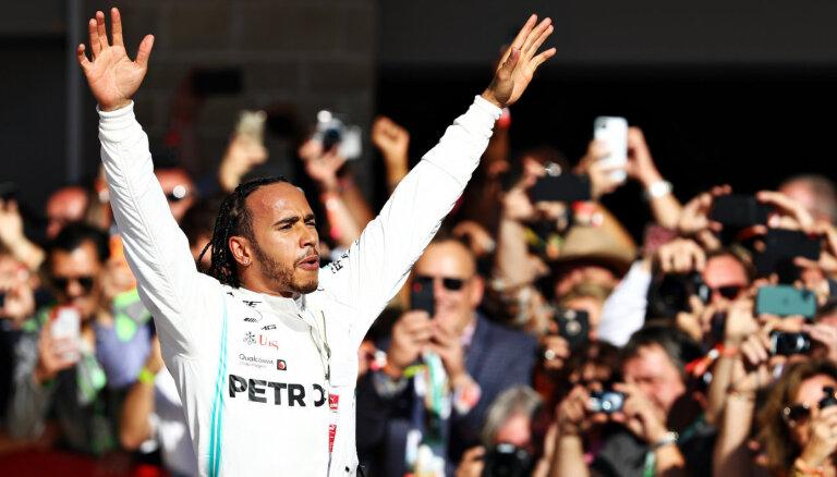 Šūmahera rekordi apdraudēti. Vai Hamiltons kļūs par visu laiku labāko F-1 pilotu?