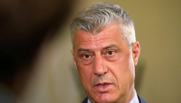 Президент Косово Хашим Тачи ушел в отставку. Его обвинили в военных преступлениях