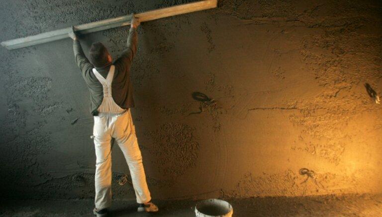 Šovasar pārsvarā mājoklī lielākoties remontē vienu telpu