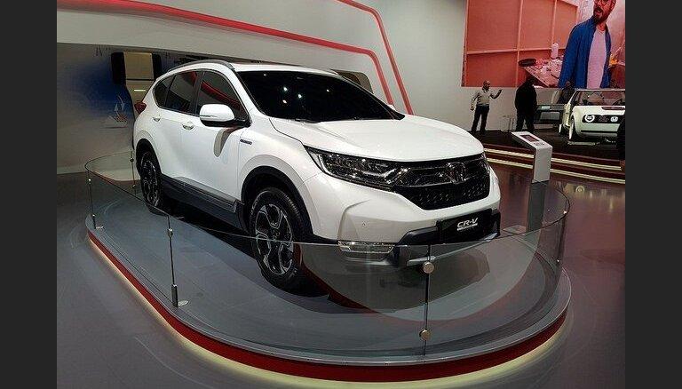 Sestdien 'Latvijas Gada auto' testa dienā 'Molā' notiks jaunā 'Honda CR-V' pirmizrāde Latvijā