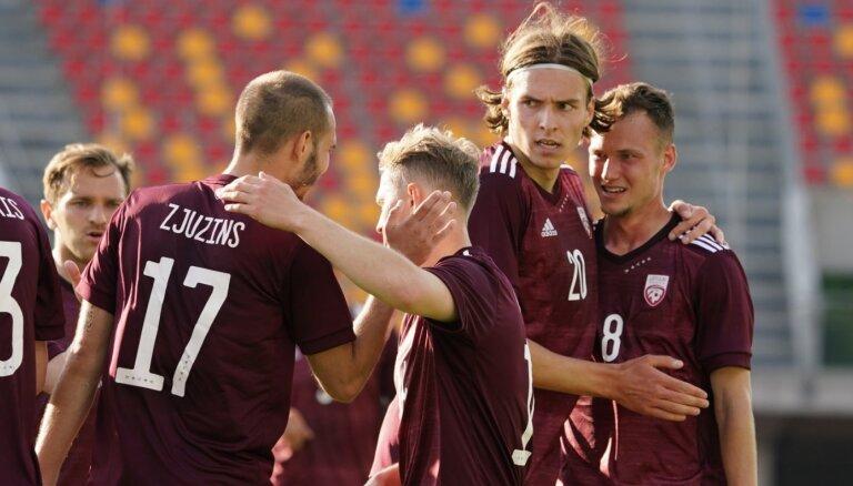 Latvijas izlase centīsies reabilitēties par neveiksmēm pret Gibraltāra futbolistiem