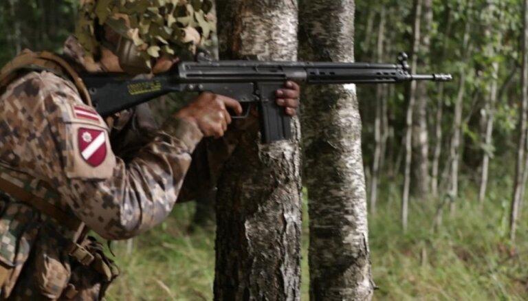 Militārajās mācībās 'Namejs 2018' pārbaudīs rezerves karavīru iemaņas