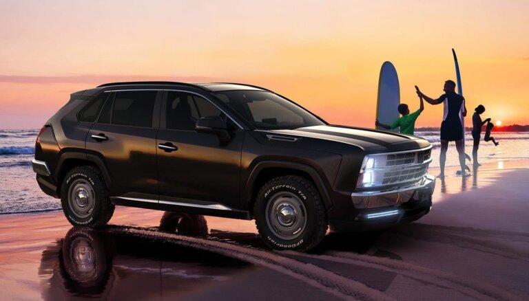 Japāņi piedāvā jauno 'Toyota RAV4' pārveidot par 90. gadu 'Chevrolet'
