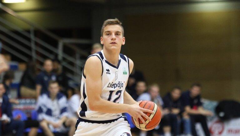 'Liepājas' basketbolisti svin pirmo uzvaru sezonā