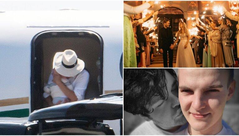 Nedēļas trakumi: karaliskais privāto lidmašīnu skandāls, populārākā 'jūtūbera' kāzas, Ingara saderināšanās