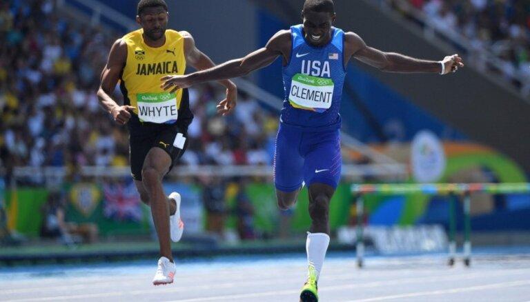 Barjerskrējējs Klements papildina amerikāņu Rio olimpisko čempionu pulku