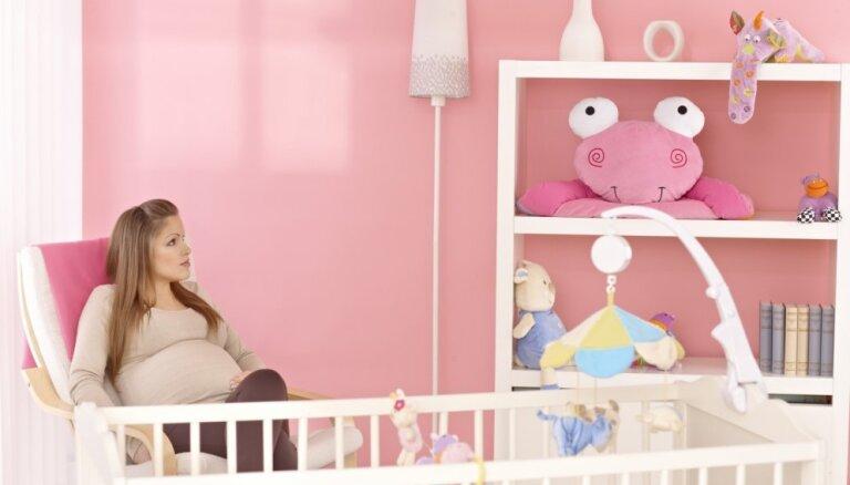Brīnišķīgas idejas zīdaiņu istabas iekārtošanai
