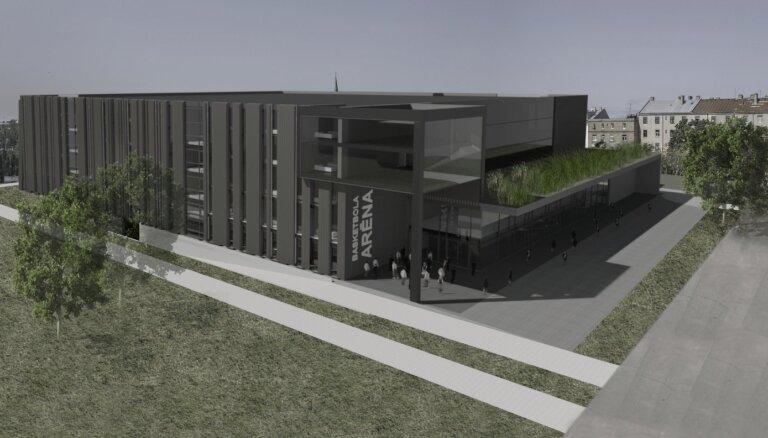 LBS guvusi atbalstu moderna basketbola centra celtniecībai